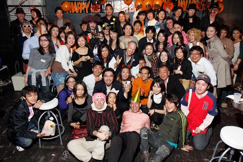4年前のハロウィンパーティはこんな感じで...