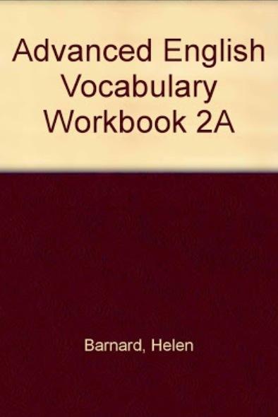 Vocabulary building ...